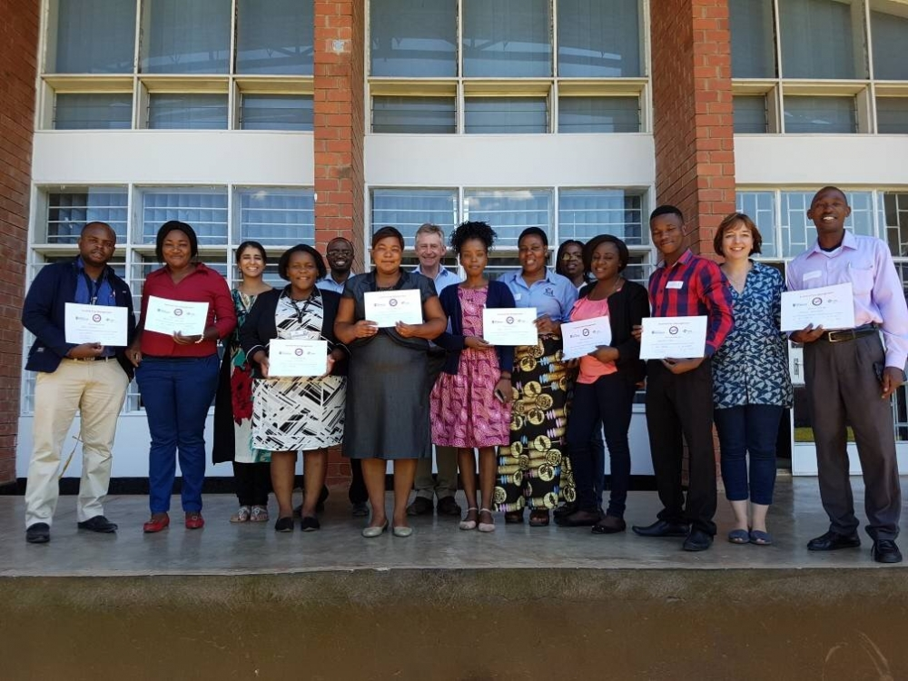 Photo of participants for the EPM workshops in Zambia 2017