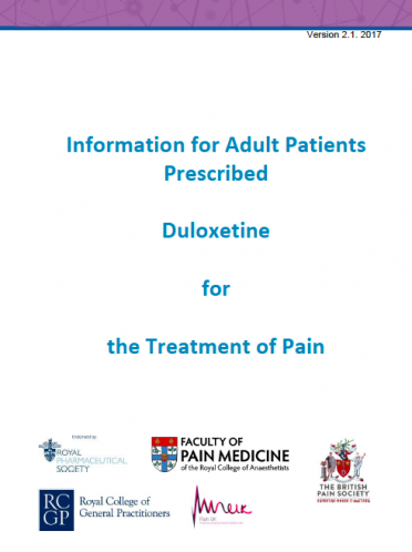 Cover for Duloxetine PIL